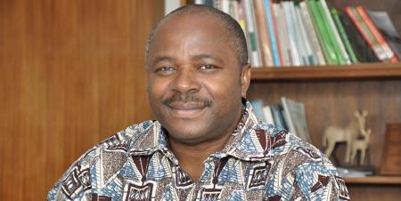IITA Director General Nteranya Sanginga.
