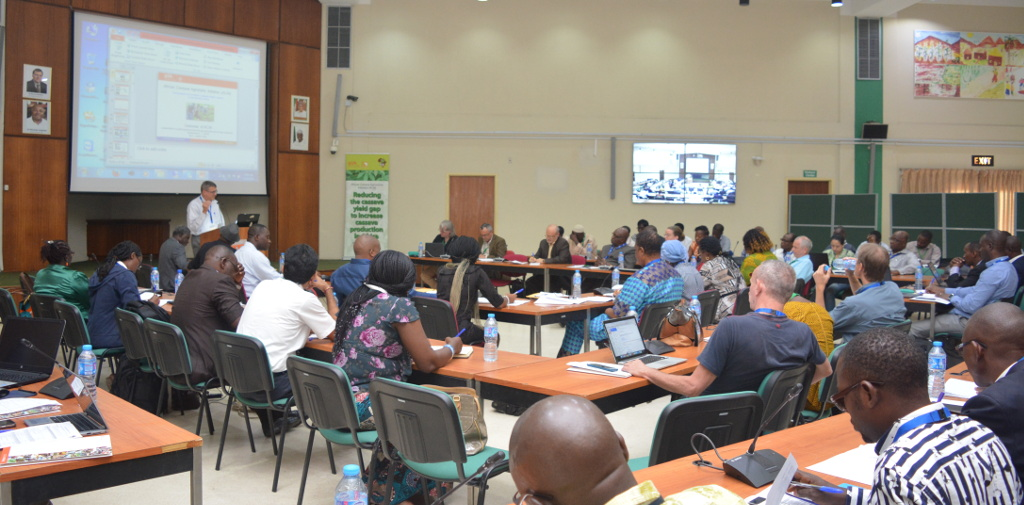 Picture of Agronomists and other stakeholders meet in IITA, Ibadan to review project activities