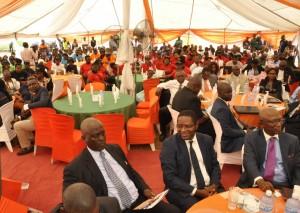 Picture of event participants.