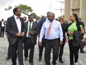 Picture of Dr. Akinwumi Adesina and DG Nteranya Sanginga